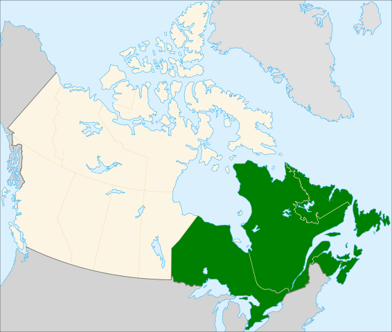 About Us Presbytery Of Eastern Canada - Map of eastern canada and us